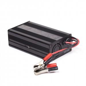 Ladegerät für Rebel Cell LiOn Akku Batterie für Fischer - Die Kraft am Wasser - Volle Leistung über gesamte Leistungsabgabe - konstante Kraftabgabe bei Voll Last bis der Saft aus ist